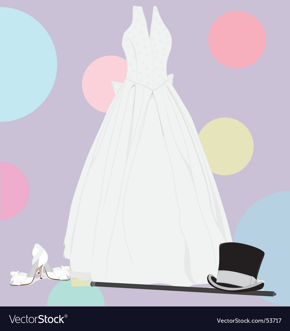 Wedding accessories vector | Price: 1 Credit (USD $1)