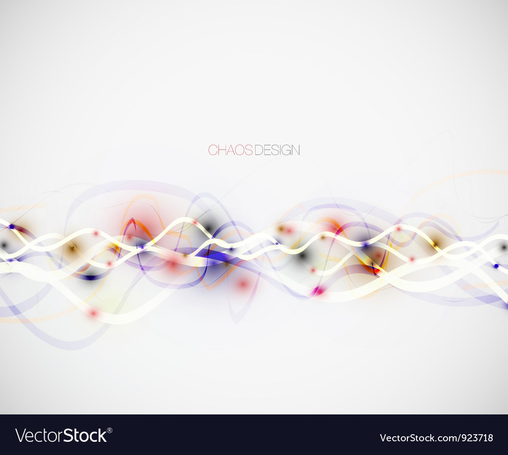 Abstract chaos lines background vector | Price: 1 Credit (USD $1)