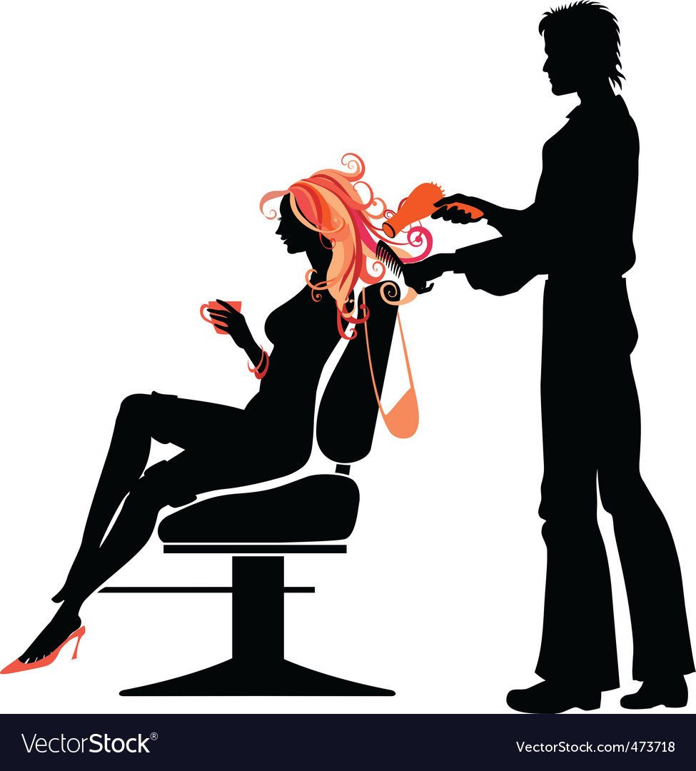 Hairdressing salon vector | Price: 1 Credit (USD $1)