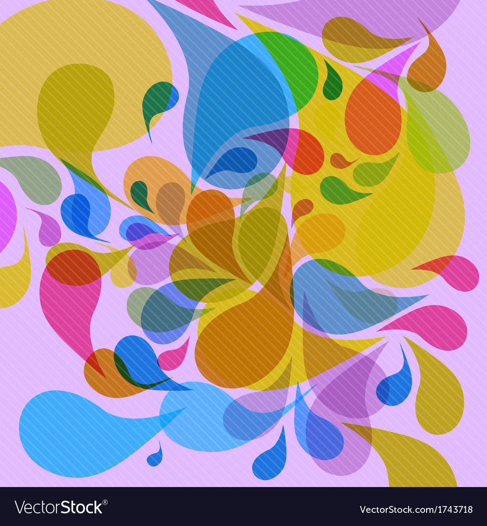 Retro colorful background vector | Price: 1 Credit (USD $1)