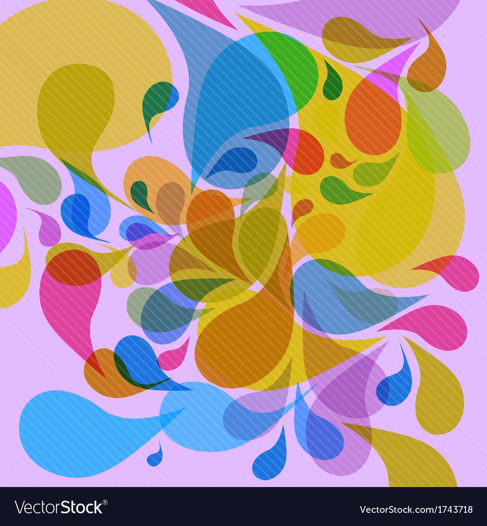 Retro colorful background vector | Price: 1 Credit (USD $1)