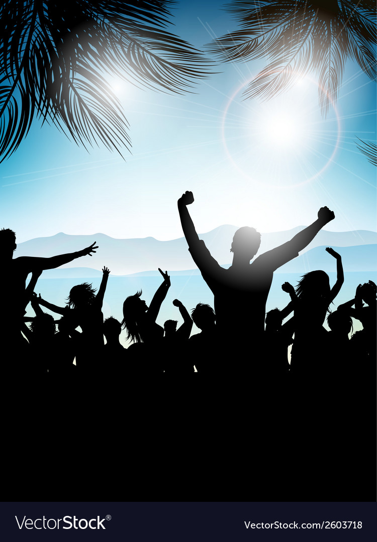 Summer party background 0207 vector   Price: 1 Credit (USD $1)