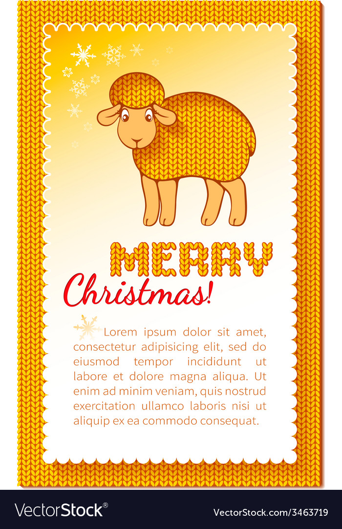 Christmas layered yellow card vector | Price: 1 Credit (USD $1)