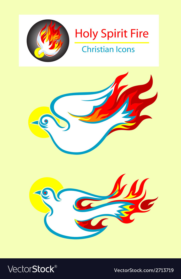 Holy spirit icons vector | Price: 1 Credit (USD $1)