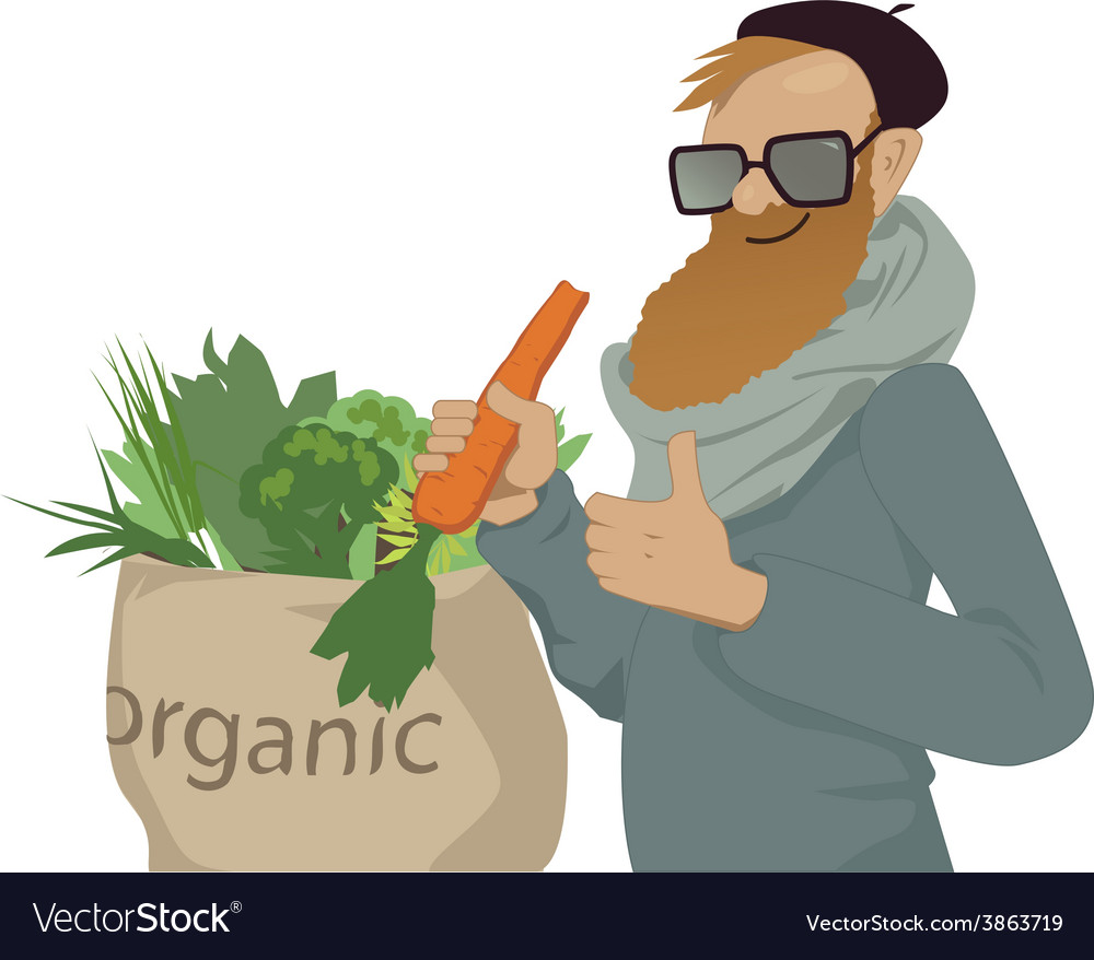 Shop local eat organic vector | Price: 1 Credit (USD $1)