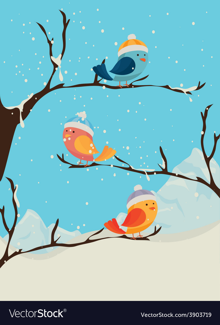 Winter design vector | Price: 1 Credit (USD $1)
