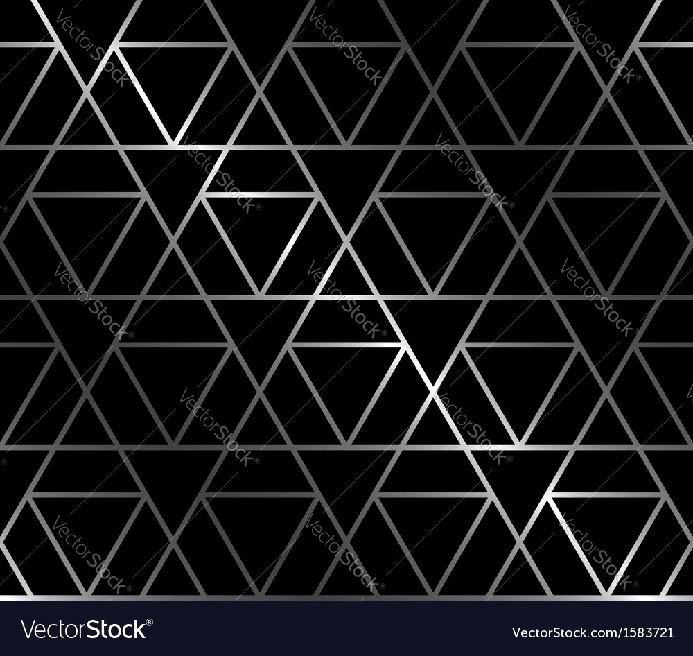 Forged seamless background with triangles vector | Price: 1 Credit (USD $1)