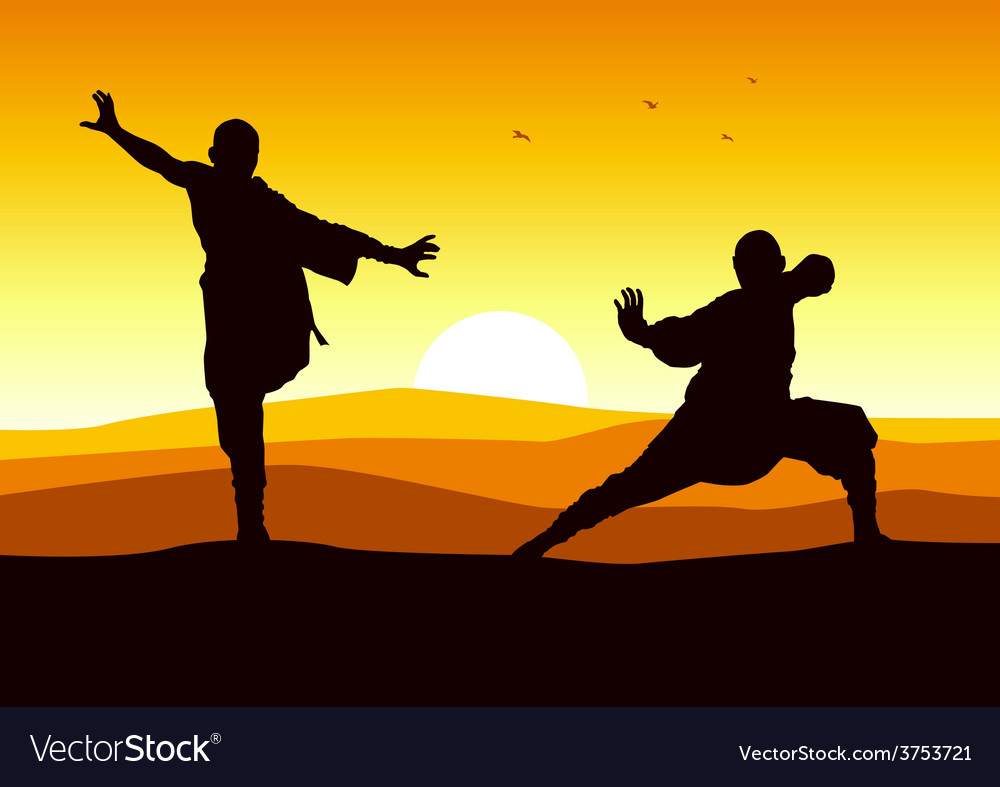 Kungfu stance vector | Price: 1 Credit (USD $1)