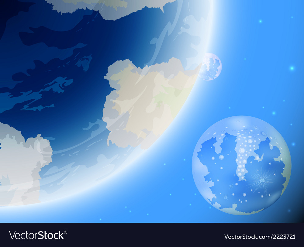 New planet earth vector | Price: 1 Credit (USD $1)