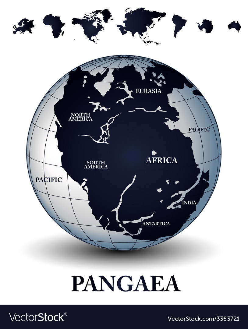 Pangaea vector | Price: 1 Credit (USD $1)