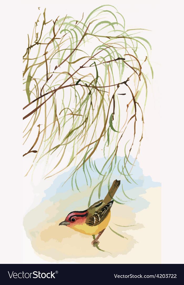 Artistic bird design vector | Price: 3 Credit (USD $3)