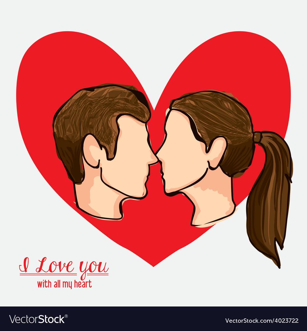 Love heart desing vector | Price: 1 Credit (USD $1)