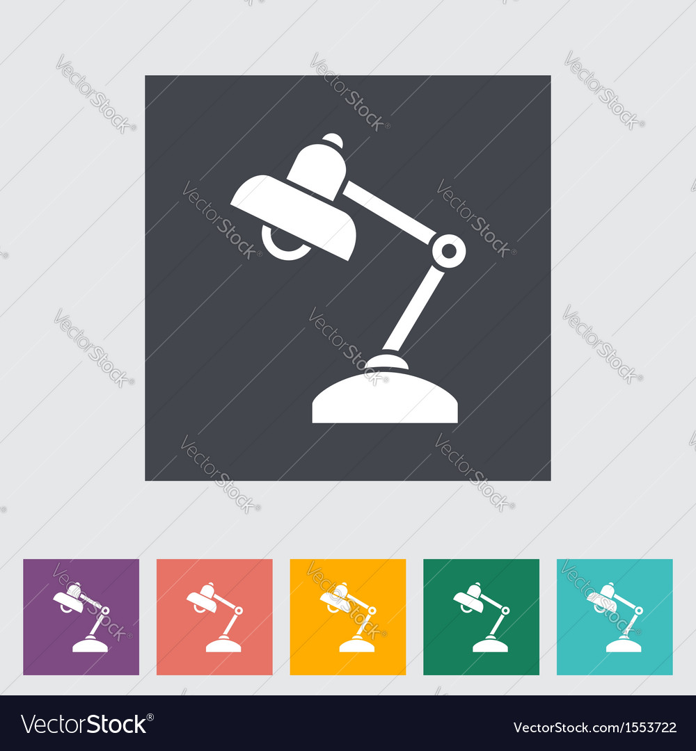 Reading lamp vector | Price: 1 Credit (USD $1)