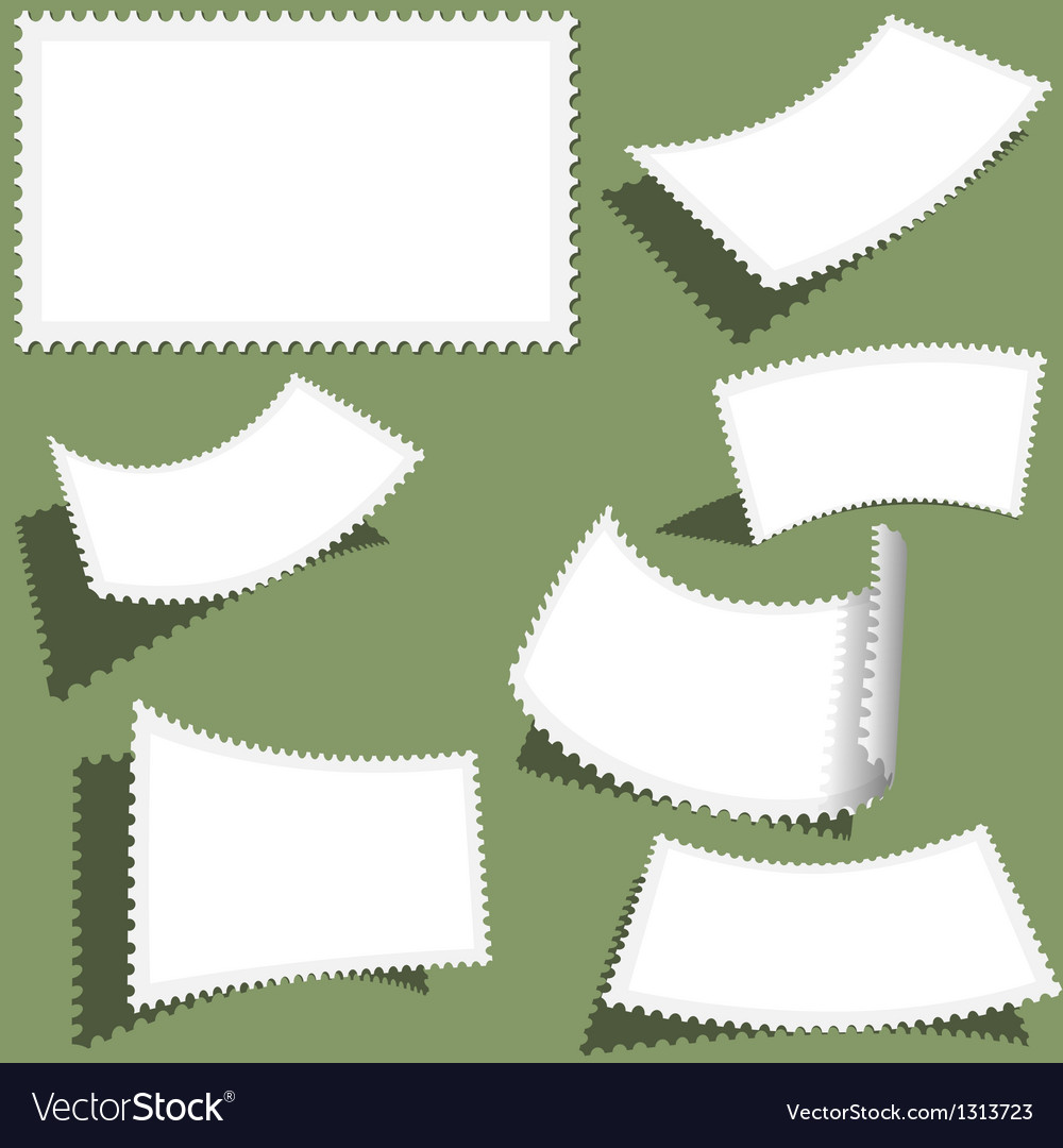 Postmark set vector | Price: 1 Credit (USD $1)