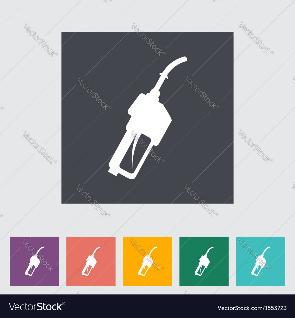 Refueling nozzle vector | Price: 1 Credit (USD $1)
