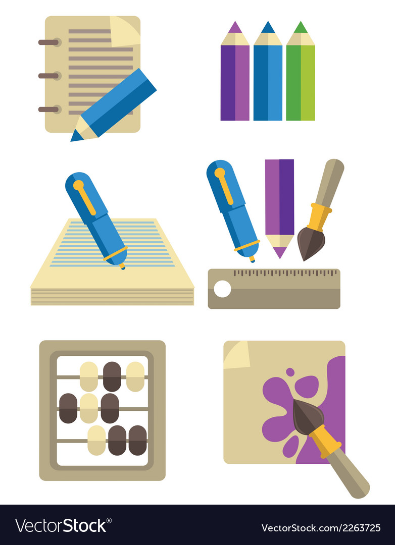 Education collection vector | Price: 1 Credit (USD $1)