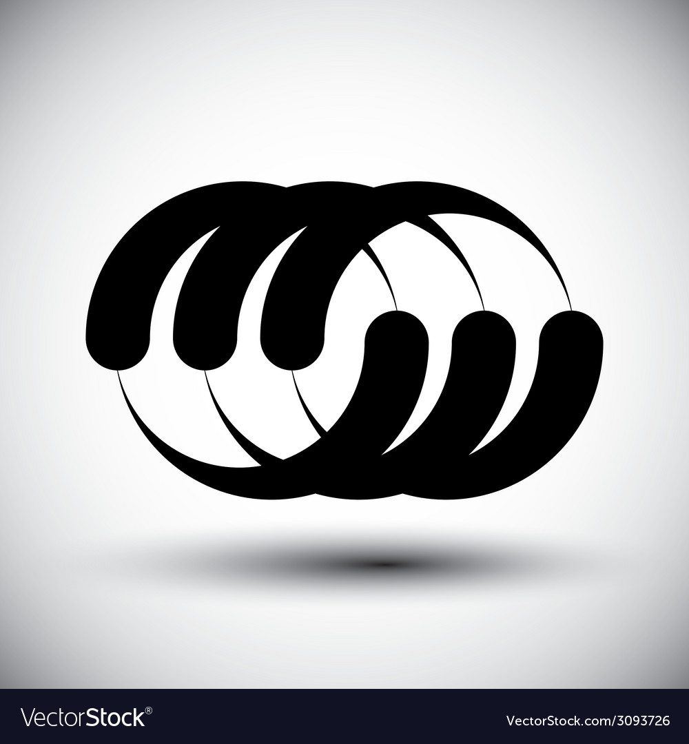 Abstract template conceptual icon special abstract vector   Price: 1 Credit (USD $1)