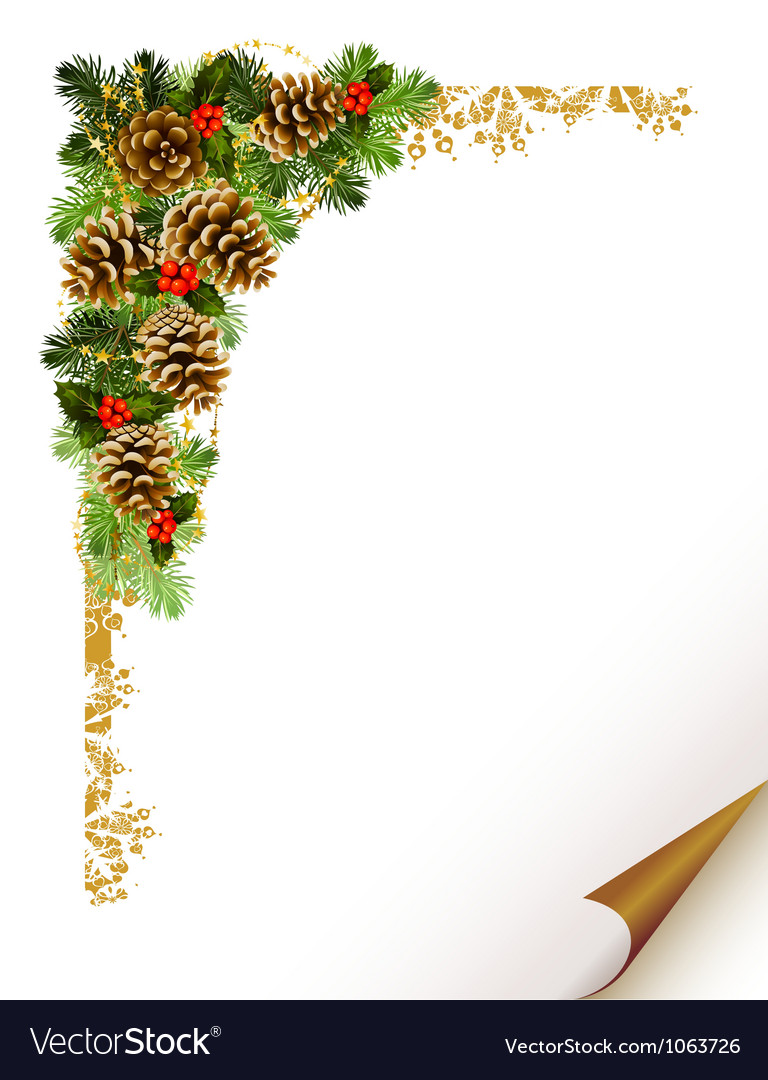 Christmas fir tree vector | Price: 3 Credit (USD $3)