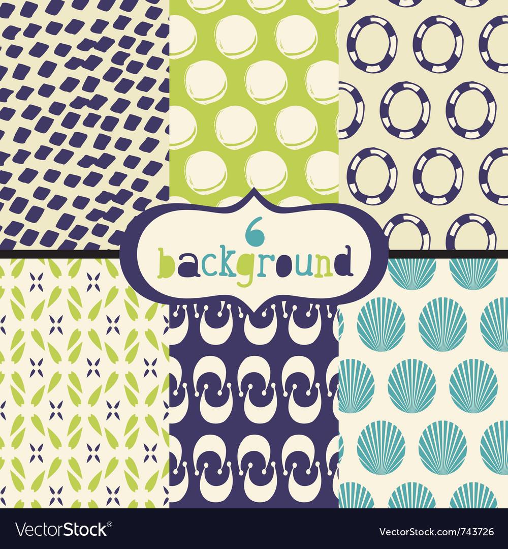 Vintage patterns vector | Price: 1 Credit (USD $1)