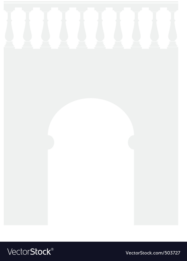 Ancient stone arch vector | Price: 1 Credit (USD $1)