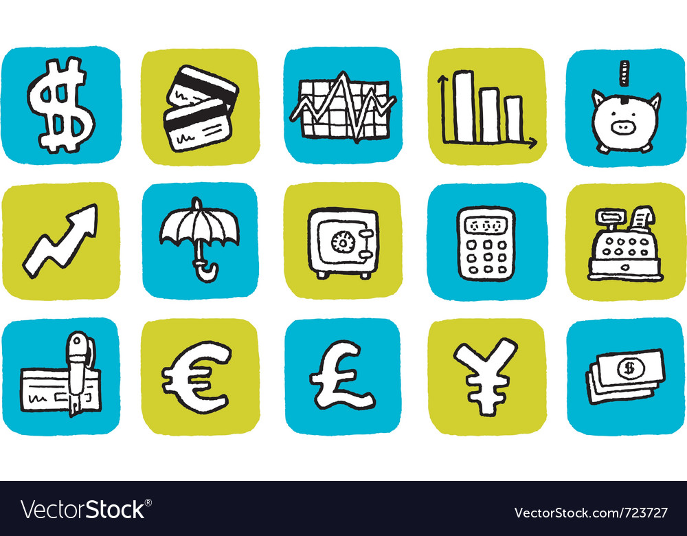 Icon finance vector | Price: 1 Credit (USD $1)