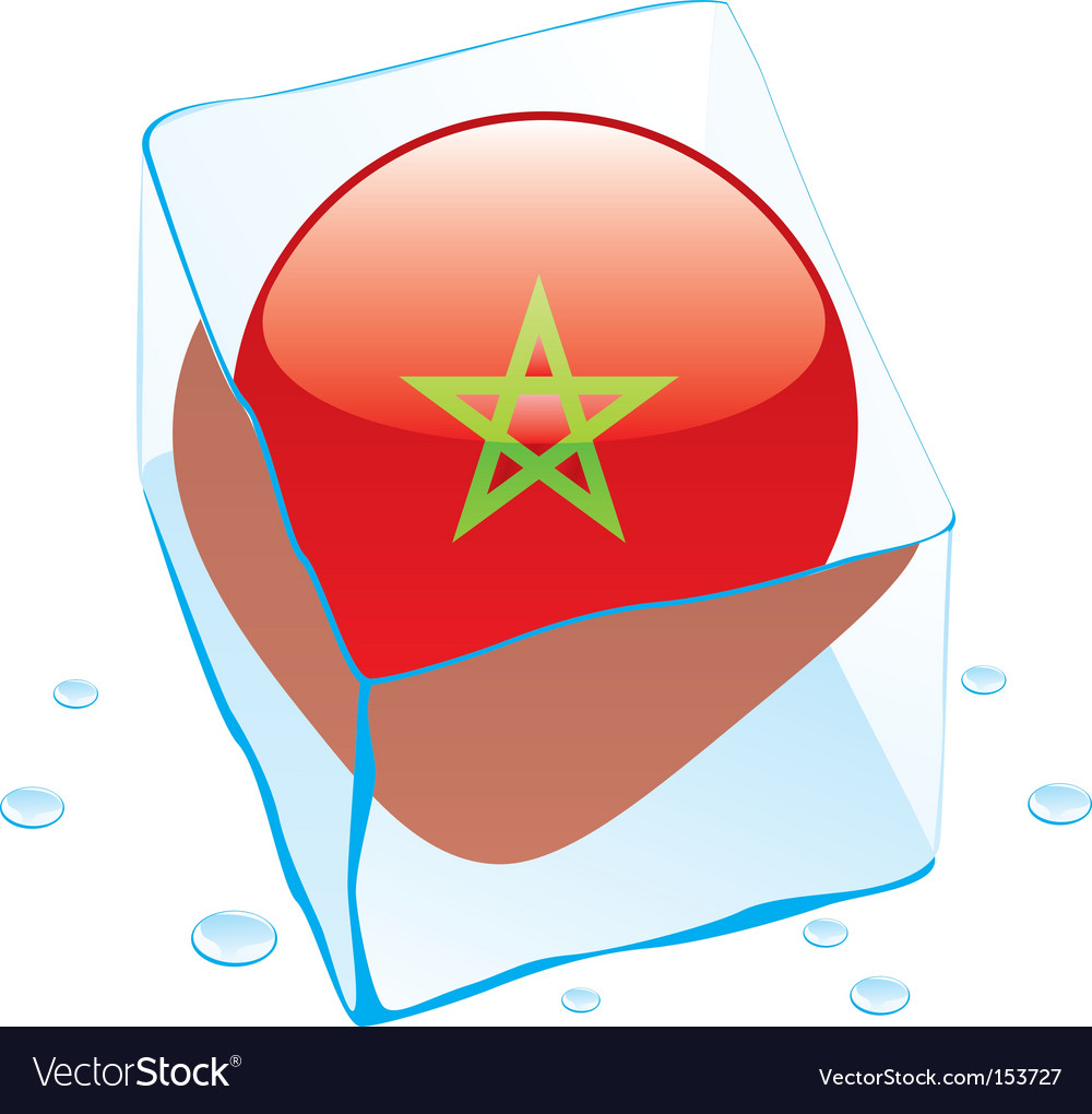 Morocco flag vector | Price: 1 Credit (USD $1)