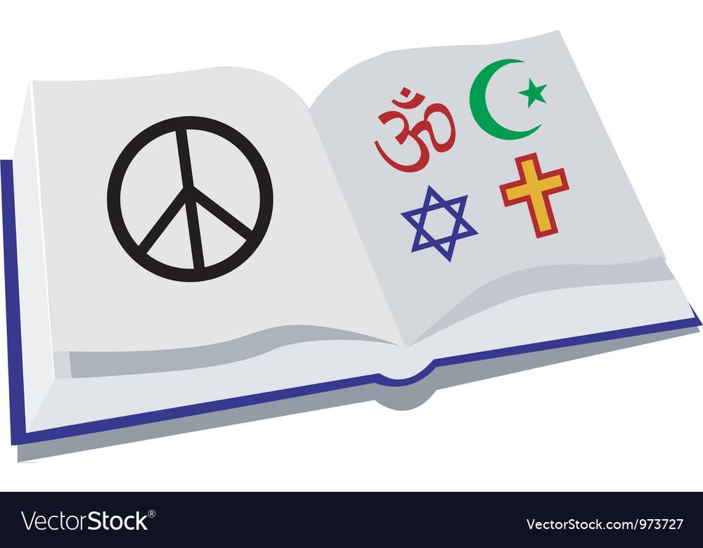 Peace religion vector   Price: 1 Credit (USD $1)