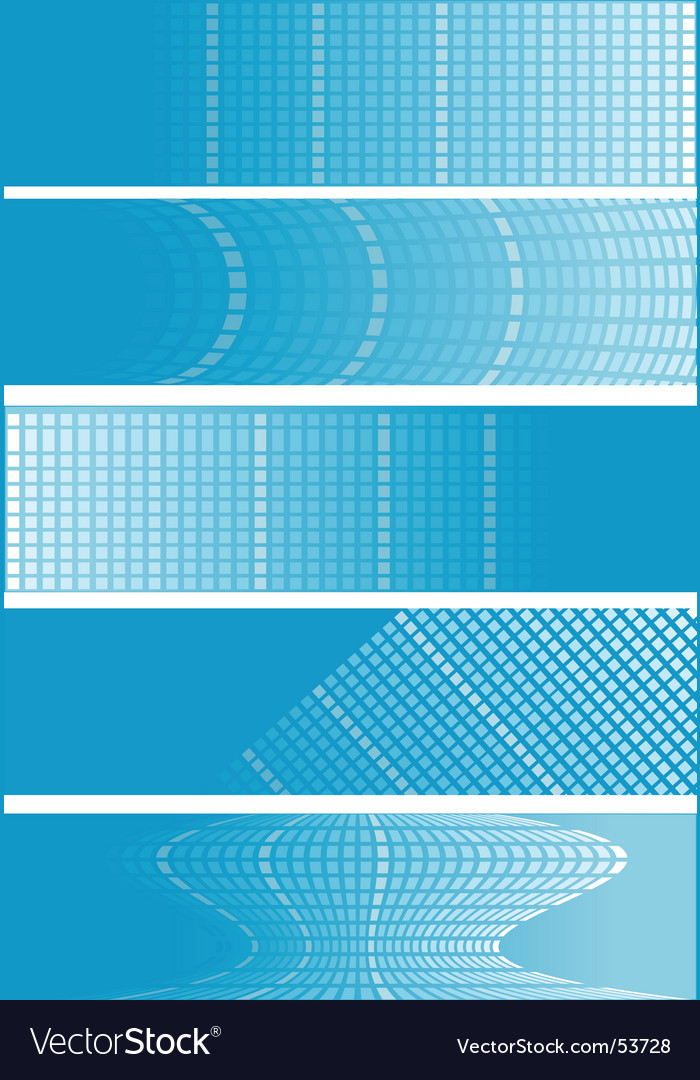Checker banners vector | Price: 1 Credit (USD $1)