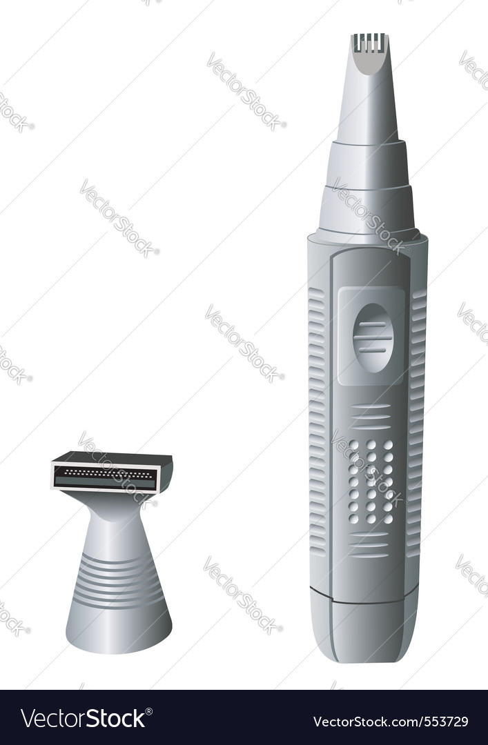 Electric razor vector | Price: 1 Credit (USD $1)