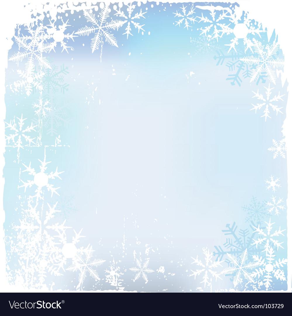 Winter background snowflakes illust vector   Price: 1 Credit (USD $1)