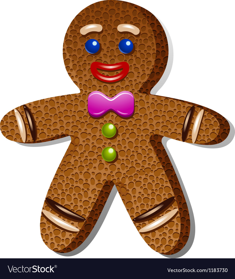 Gingerbreadman vector | Price: 1 Credit (USD $1)