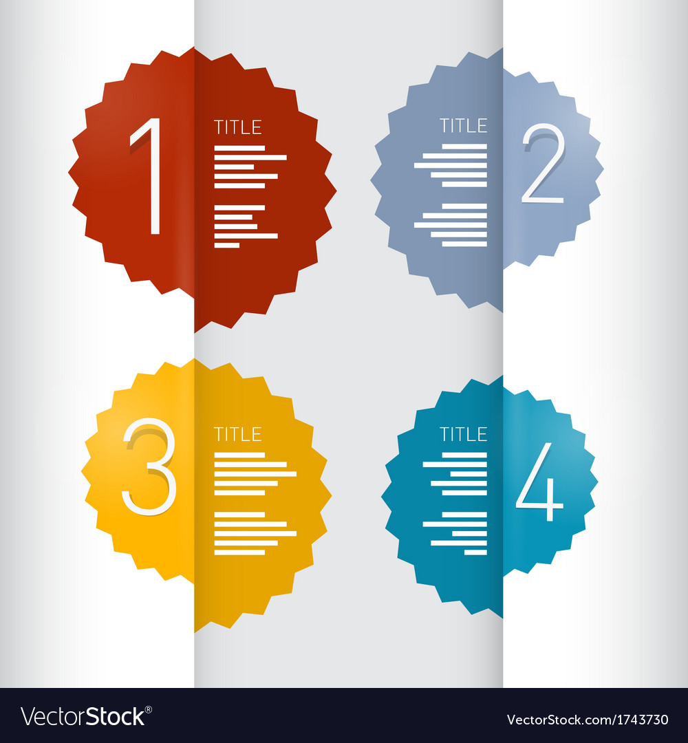 Progress steps for tutorial infographics vector   Price: 1 Credit (USD $1)