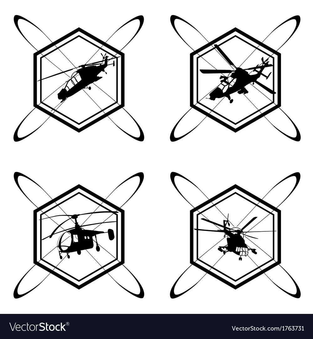 The icon with the helicopter vector | Price: 1 Credit (USD $1)