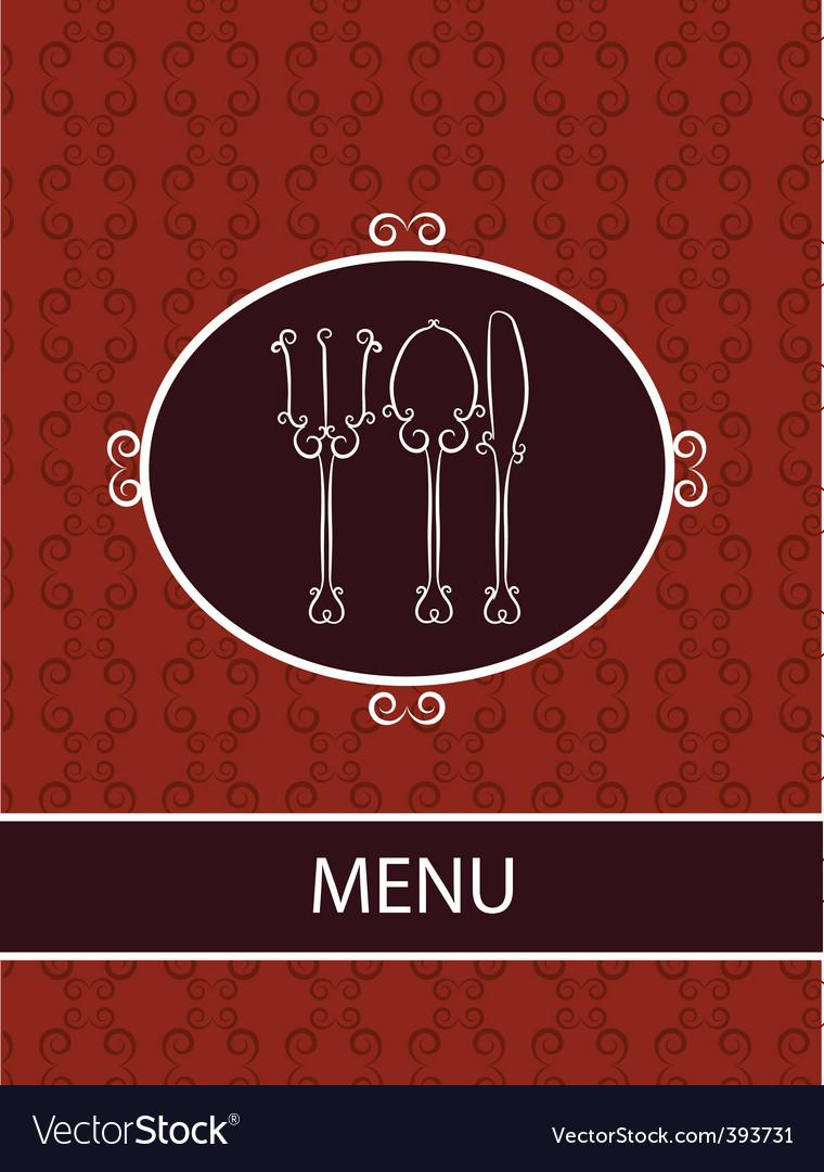 Restaurant dinner menu vector | Price: 1 Credit (USD $1)