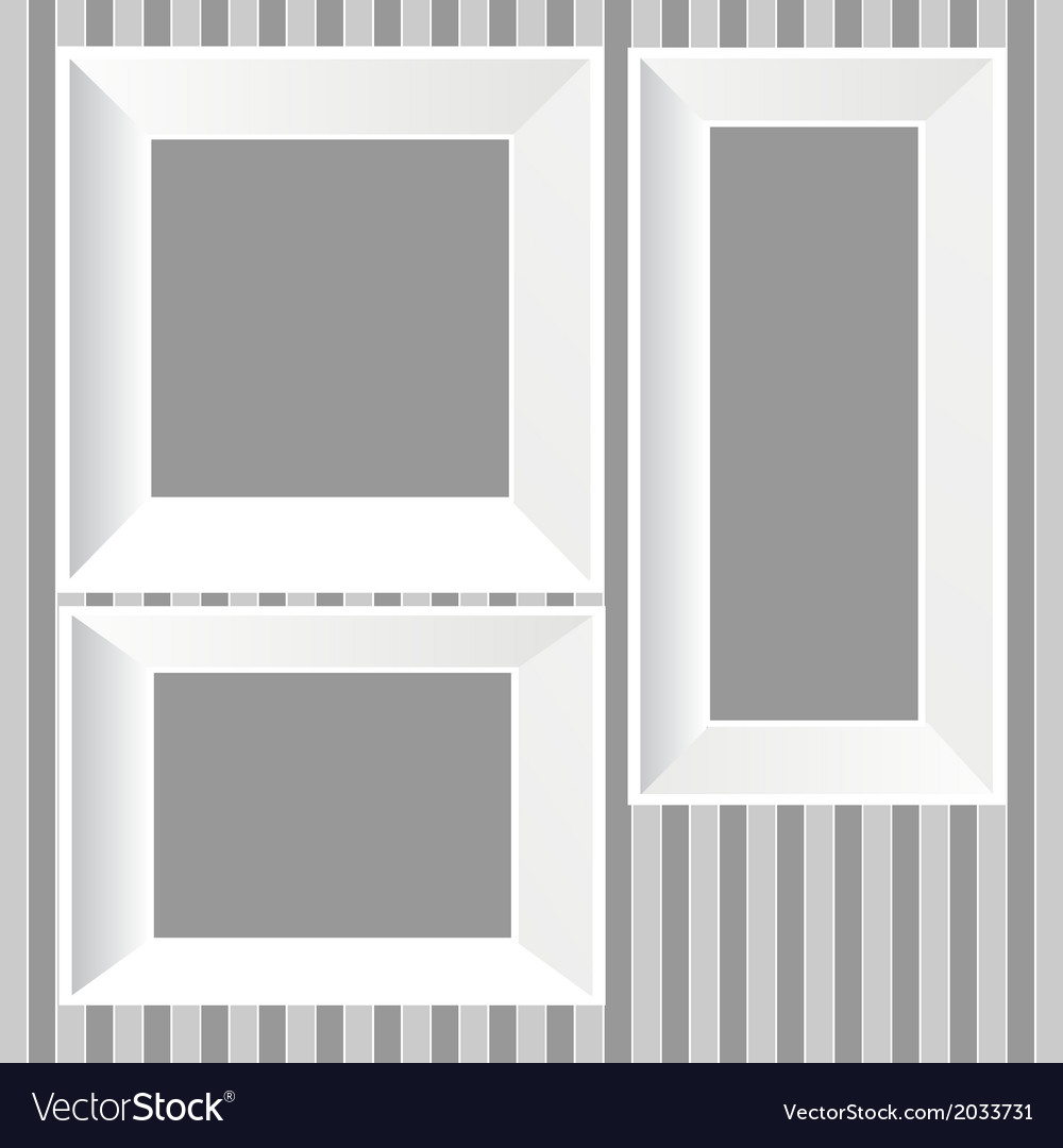 White frames background vector | Price: 1 Credit (USD $1)