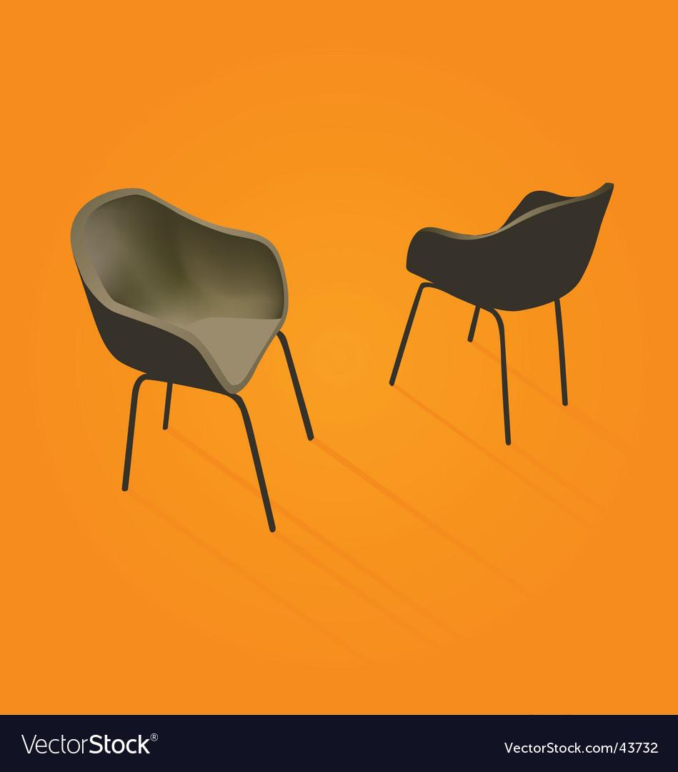 Retro chair vector | Price: 1 Credit (USD $1)