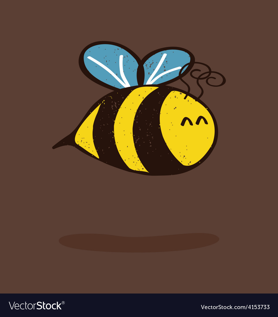 Little bee vector | Price: 1 Credit (USD $1)
