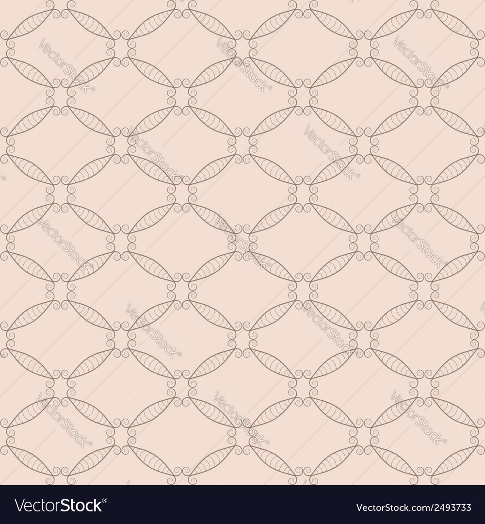 Retro net seamless pattern vector | Price: 1 Credit (USD $1)
