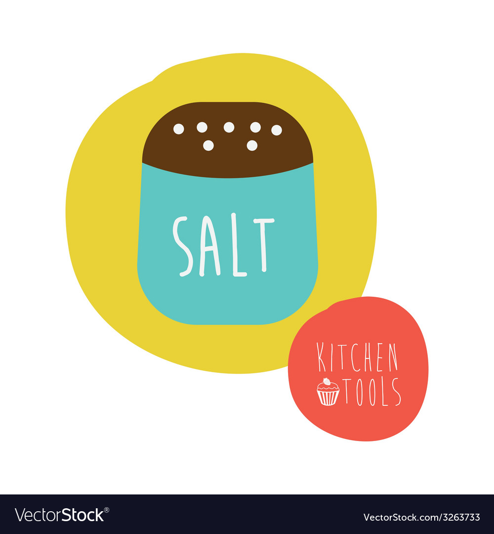 Salt design vector | Price: 1 Credit (USD $1)
