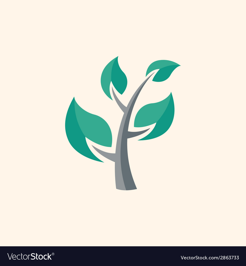 Tree flat icon vector | Price: 1 Credit (USD $1)