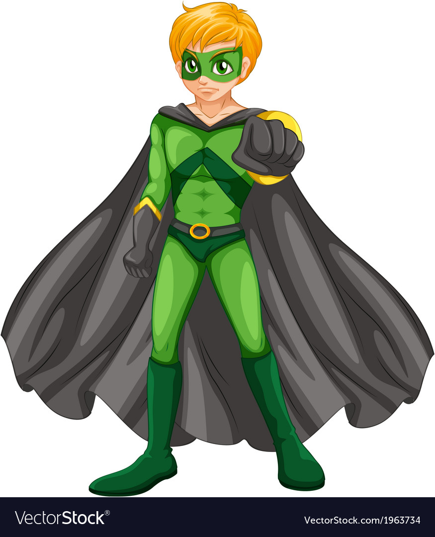 A handsome superhero vector | Price: 3 Credit (USD $3)