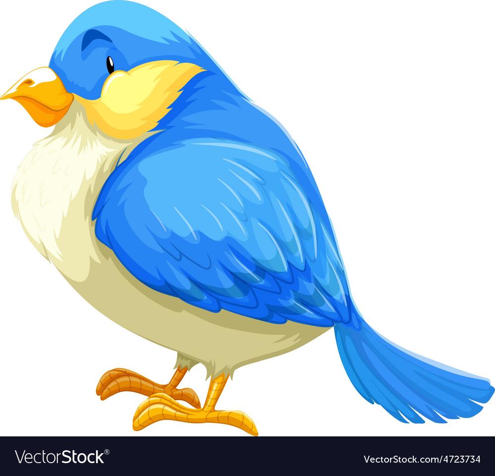Blue bird vector   Price: 3 Credit (USD $3)