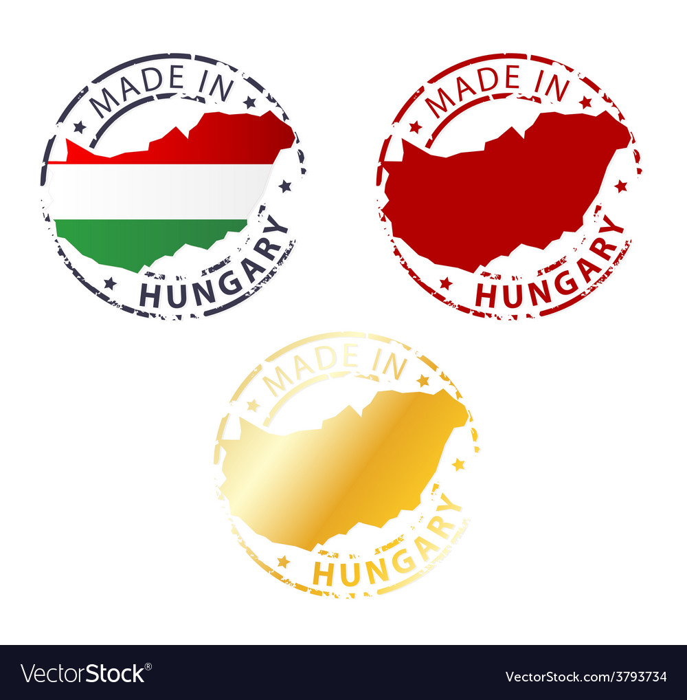 Made in hungary stamp vector | Price: 1 Credit (USD $1)