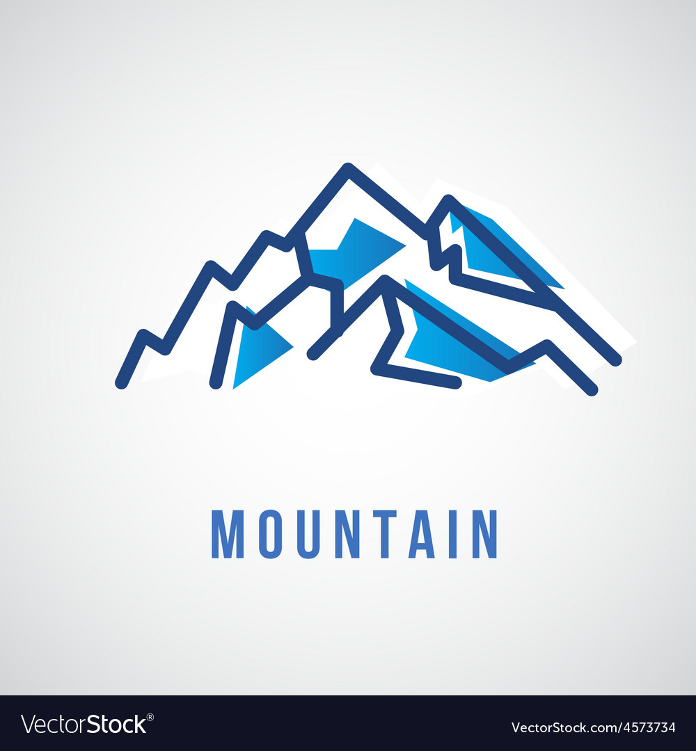 Mountain logo vector | Price: 1 Credit (USD $1)