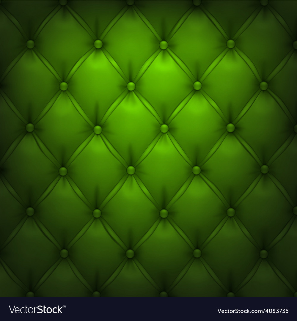Green upholstery leather pattern background vector | Price: 1 Credit (USD $1)