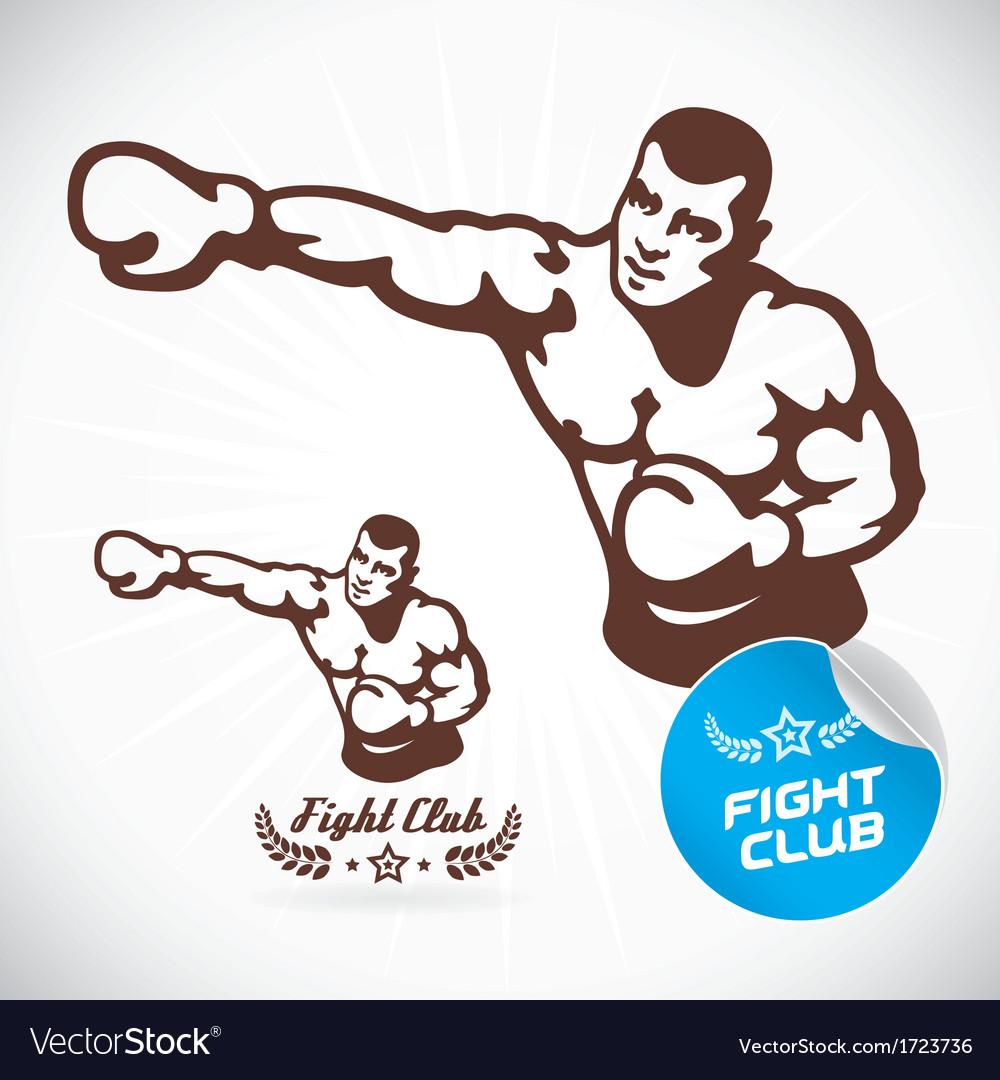 Boxer fitness model vector   Price: 1 Credit (USD $1)