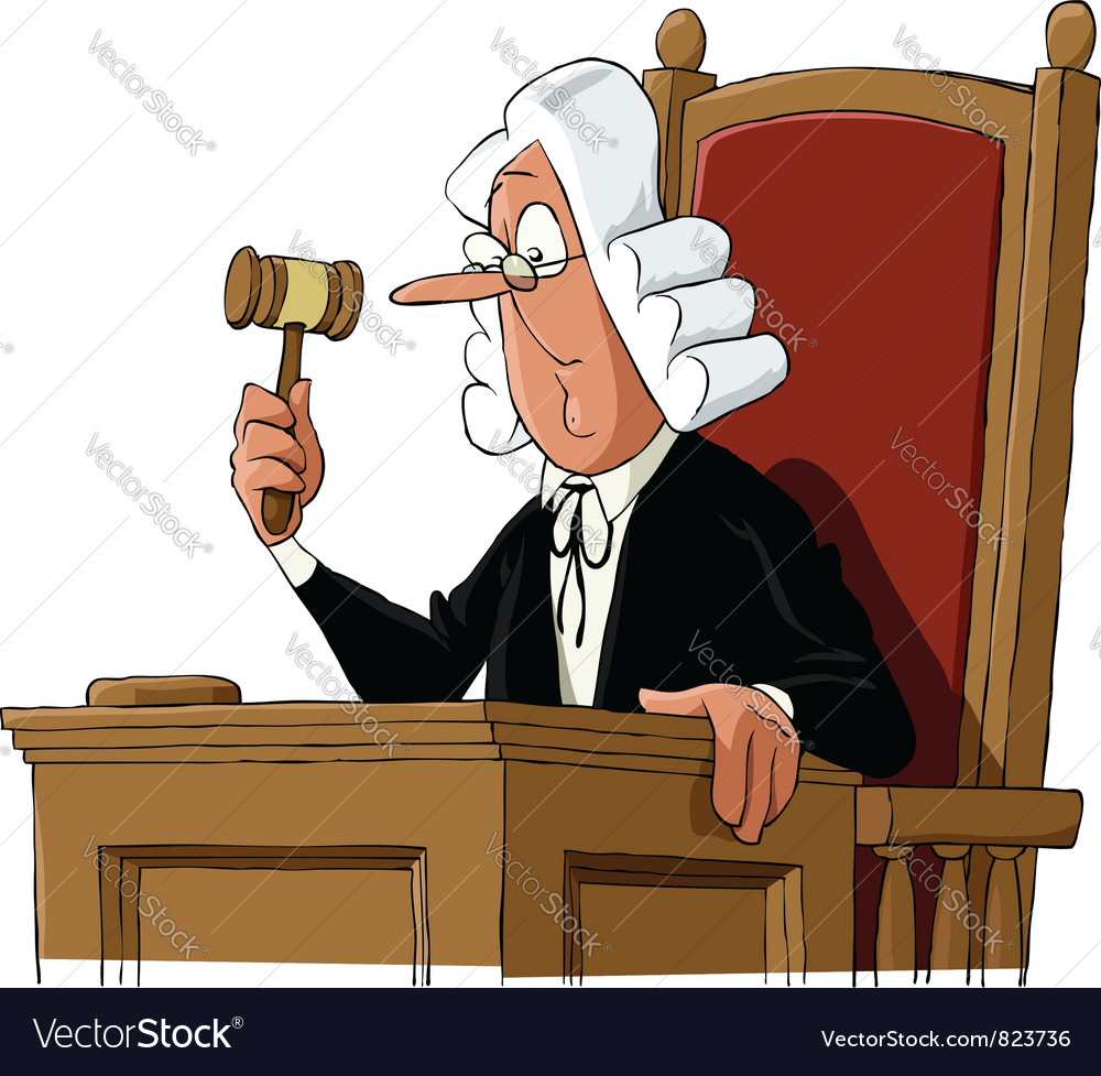Judge vector | Price: 1 Credit (USD $1)