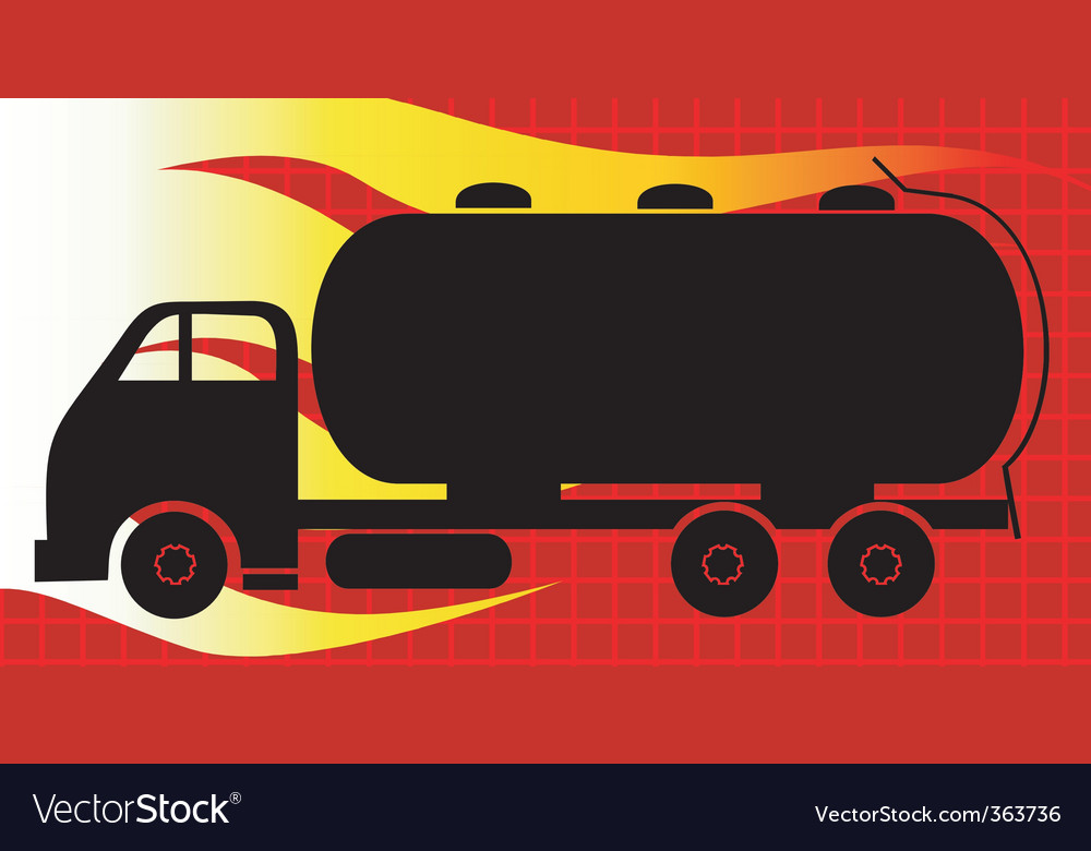 Tanker lorry vector | Price: 1 Credit (USD $1)