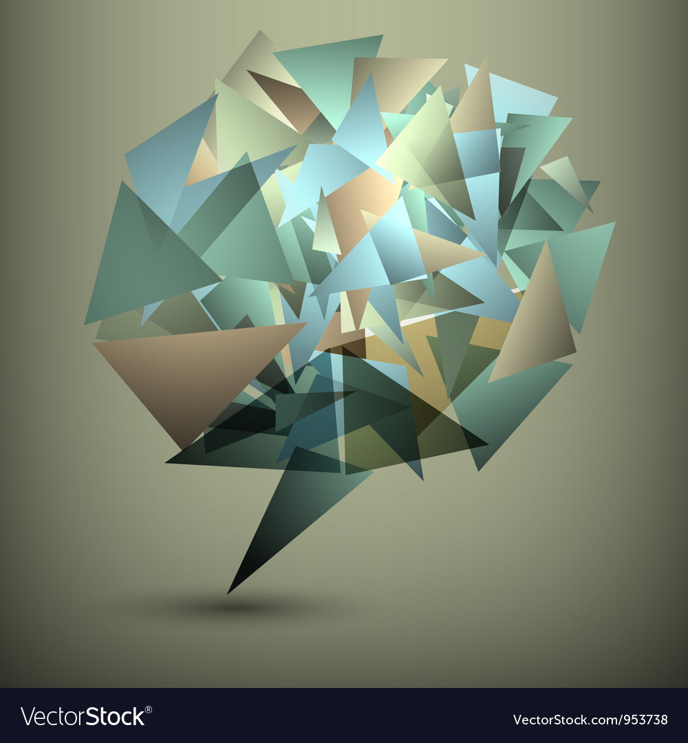 Abstract geometric bubble vector | Price: 1 Credit (USD $1)