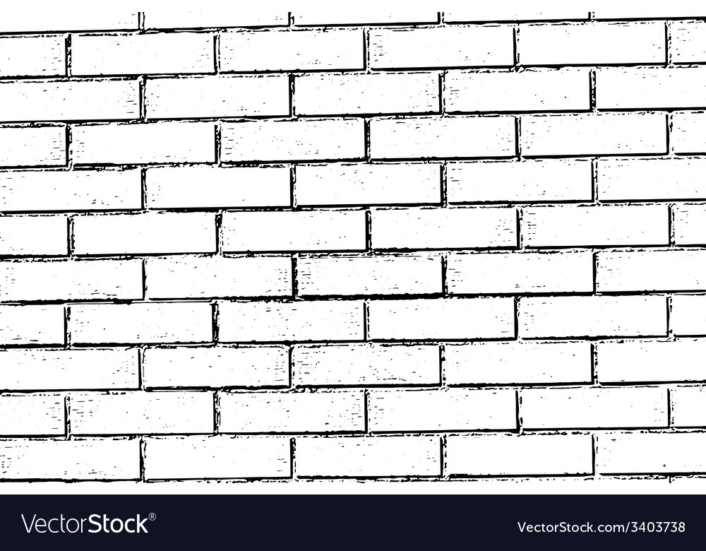 Brick wall texture background vector | Price: 1 Credit (USD $1)
